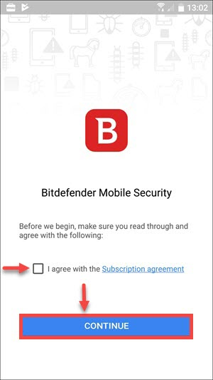 BMS Android subscription agreement fixed